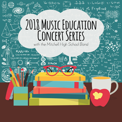 2018 Music Education Concert Series with Mitchell